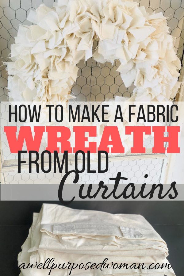 Photo of How to make a beautiful farmhouse cloth wreath for $ 1 – a well-intentioned woman