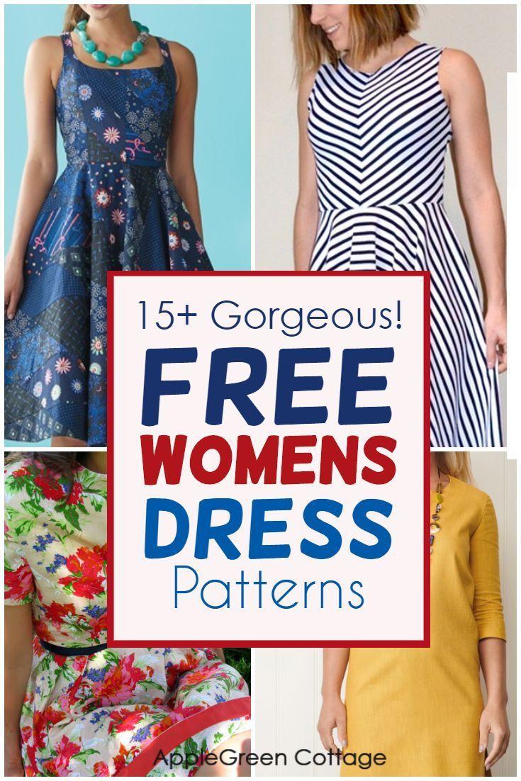 15 Gorgeous Summer Dress Patterns For Women Applegreen Cottage Dress Sewing Patterns Free Pattern Dress Women Swing Dress Pattern [ 1102 x 735 Pixel ]
