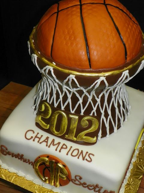 basketball cake from plumeria cake studio