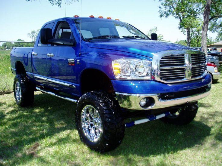 06 07 Dodge Ram Sel Electric Blue