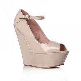 Lipsy Nude Trinity High Heel Shoes #lickable