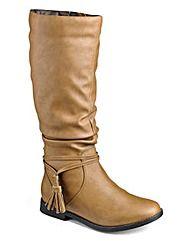 Sole Diva Super Curvy Calf Boots EEE Fit
