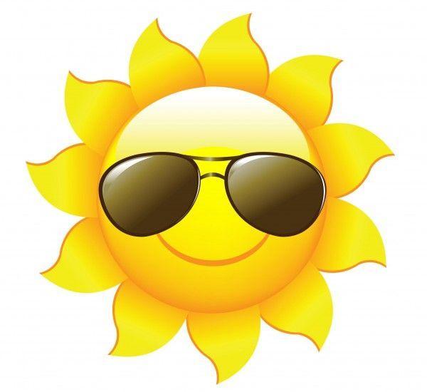 10 sun cartoons | PAPERCRAFTS | Clip art, Summer clipart, Cartoon sun