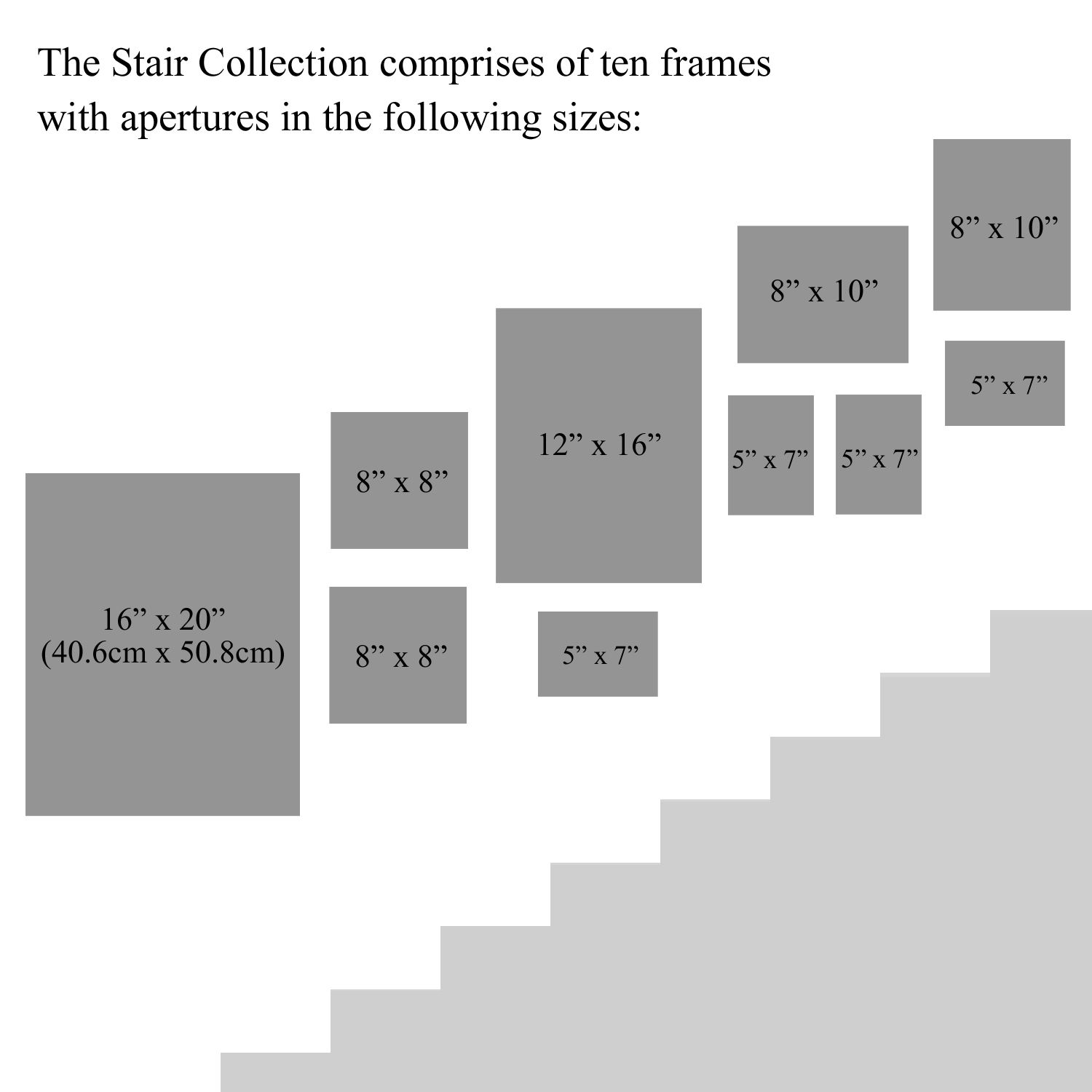 Gallery Frame Stair Collection Stair Wall Decor Gallery Wall Staircase Staircase Wall Decor