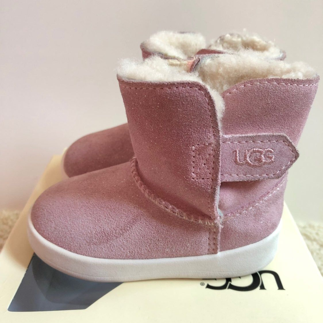 Ugg Pink Baby Boots! Size 4/5   Boots