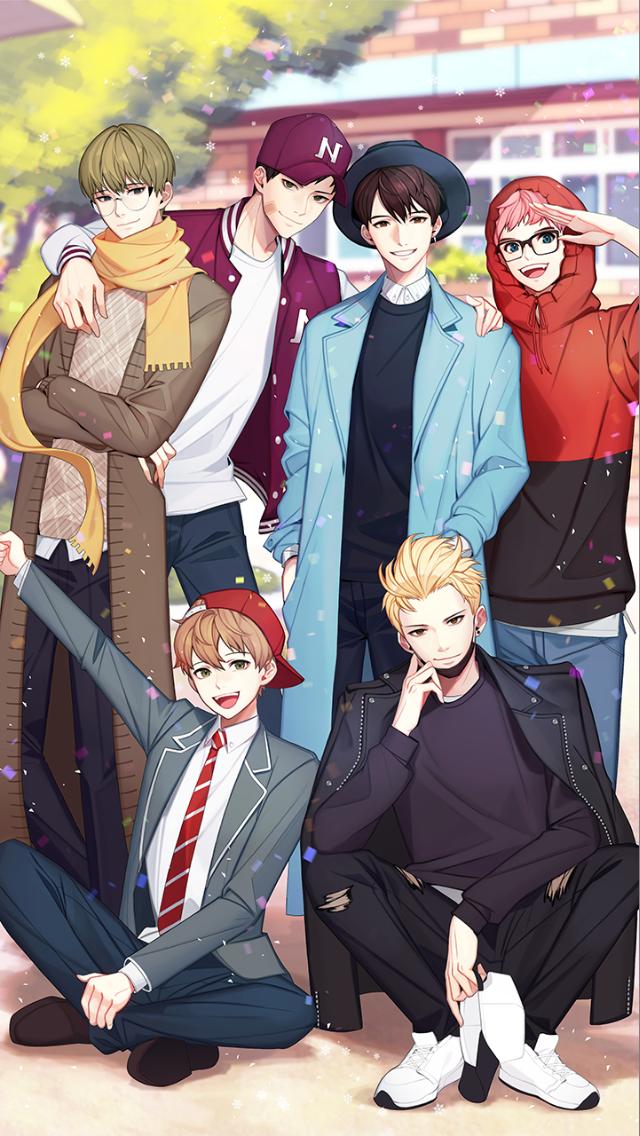 Pin By Annalyn M On King Bs Cute Anime Guys Anime Anime Friendship