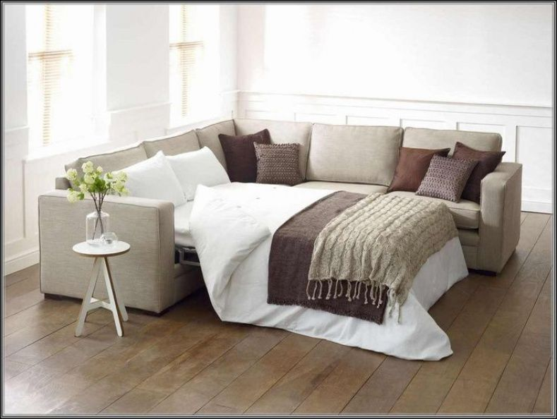 L Shaped Couch With Sofa Bed Small