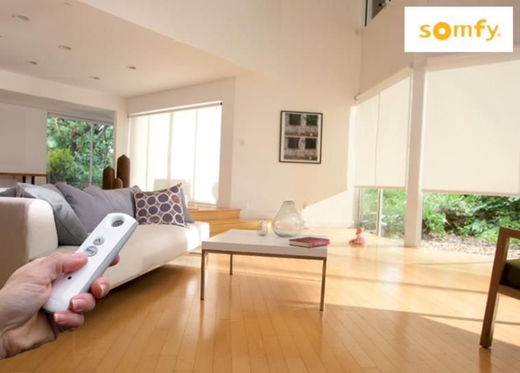 Control Sun Glare With Motorized Shades