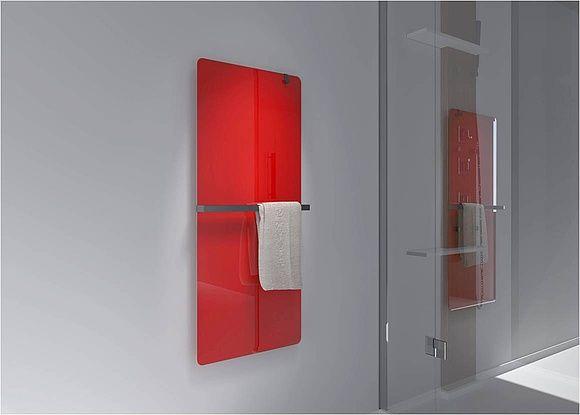 Moderne Infrarot-Badheizkörper aus Glas sind beliebte Design