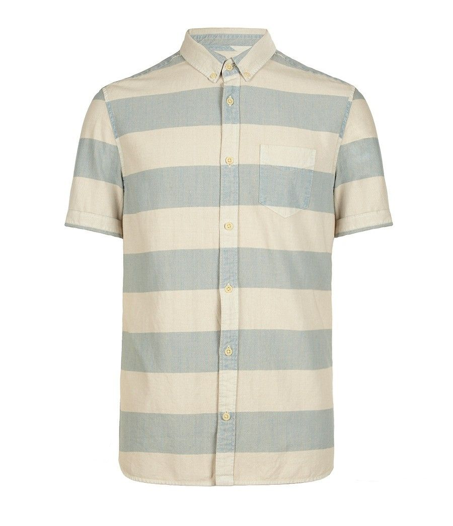 Brittany Short Sleeved Shirt, Sale, Sale Men, AllSaints Spitalfields, $60.00