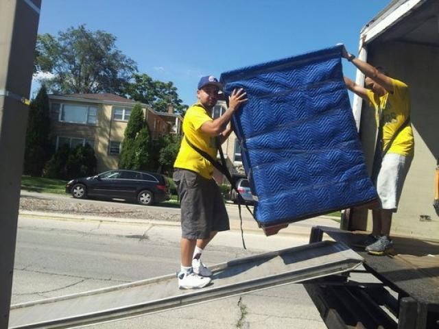 Load unload movers