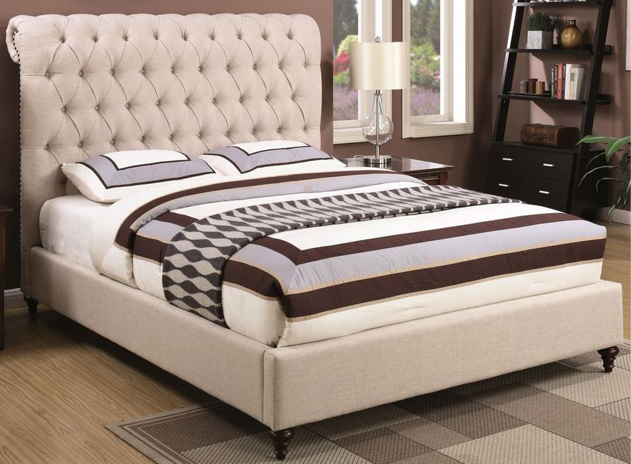 Queen or King Upholstered Bed 300525
