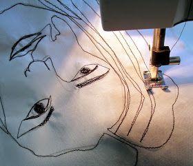 Omakuva,   jota piirsin itse 3 minuuttia...          ...jonka jälkeen nousin tuoliltani   ja siirryin piirtämään   seuraavaa muot...