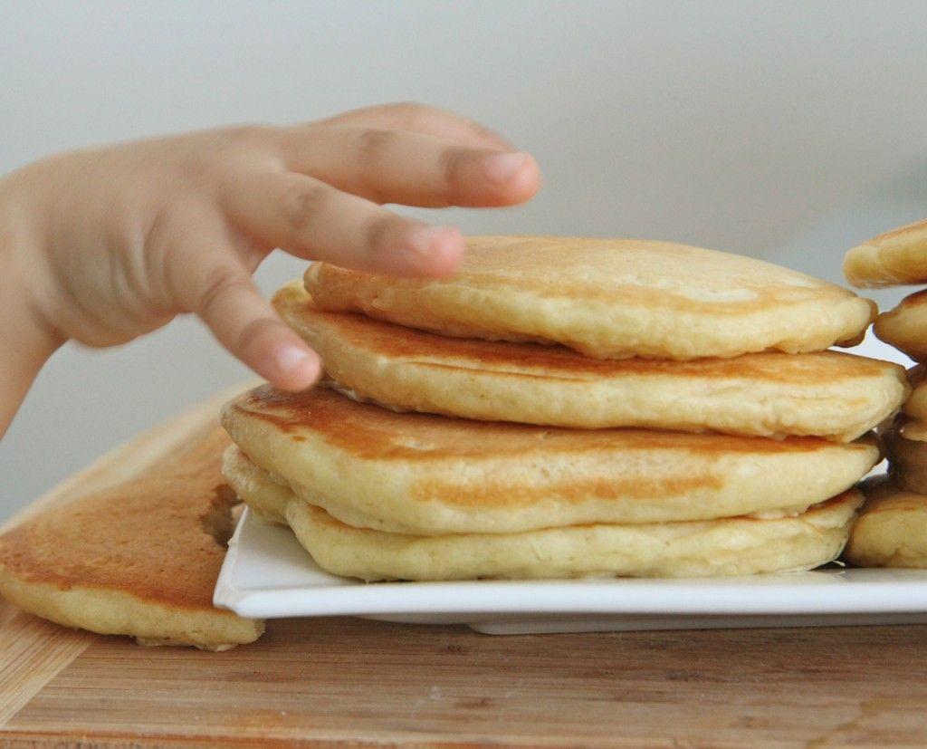 Easy fluffy buttermilk pancakes recipe scratch breakfast divas can continue k homemade butte milk pancakes ccuart Choice Image
