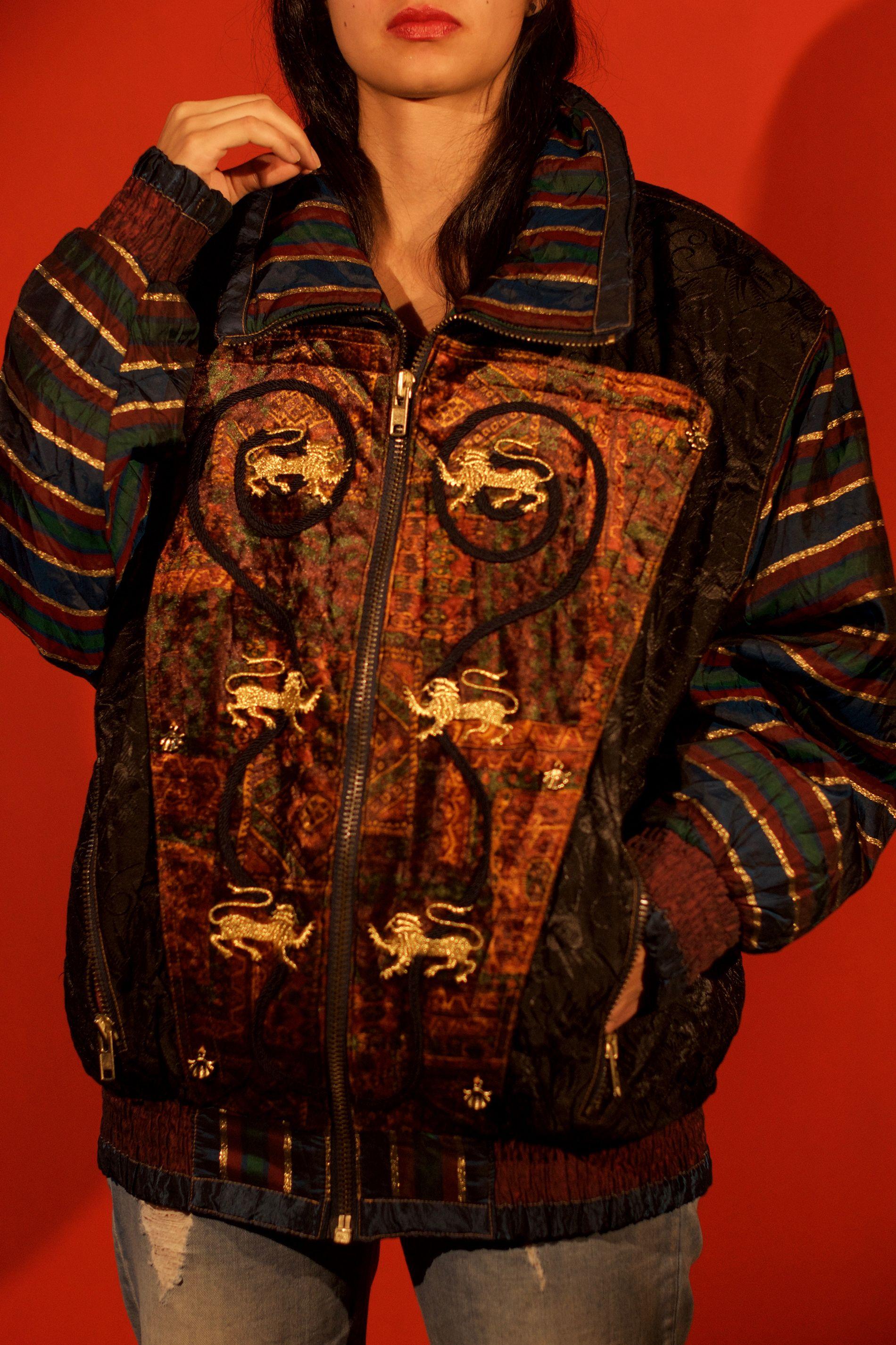 La quinceanera de la chaqueta negra