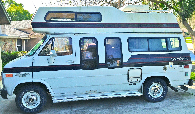 1988 Chevy Horizon 170 Camper Van Class B Rv Camper Van Vans