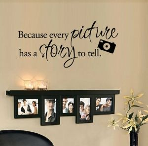 """OUR FAMILY Wall Art Vinyl Decal Home Decor Sticker 48/"""""""