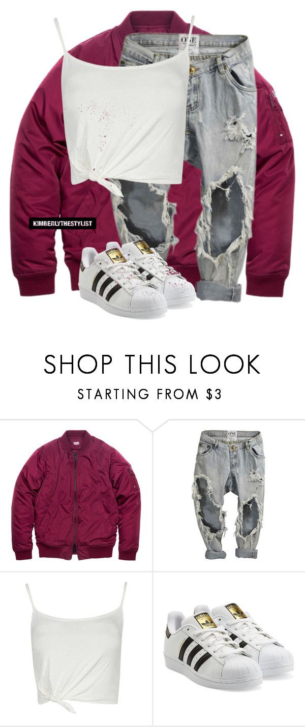 """""""Untitled #2288"""" by whokd ❤ liked on Polyvore featuring adidas Originals"""
