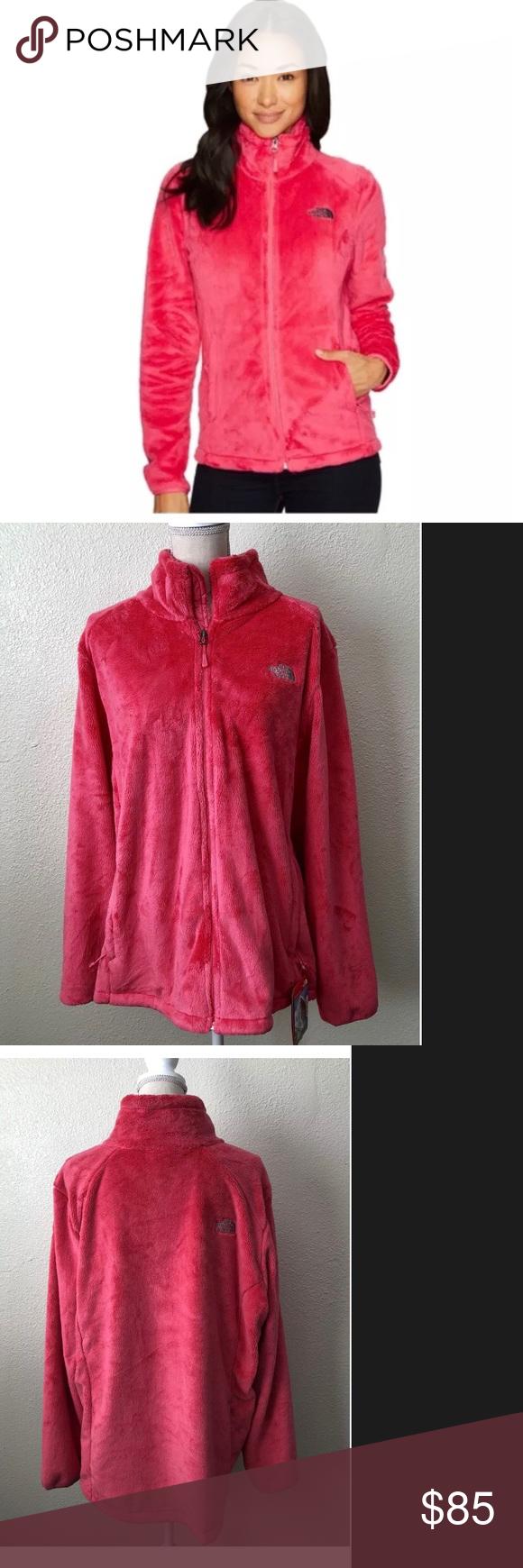 Nwt North Face Xxxl Pink Osito Fleece Jacket Clothes Design Jackets Fleece Jacket [ 1740 x 580 Pixel ]