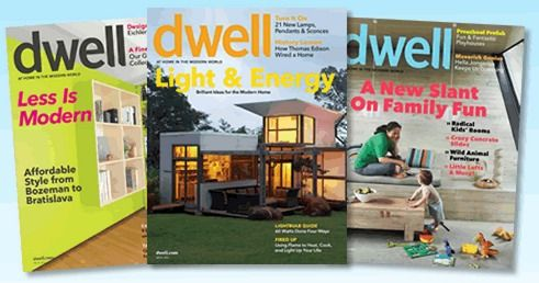 FREE 1 Year Subscription To Dwell Interior Design Magazine
