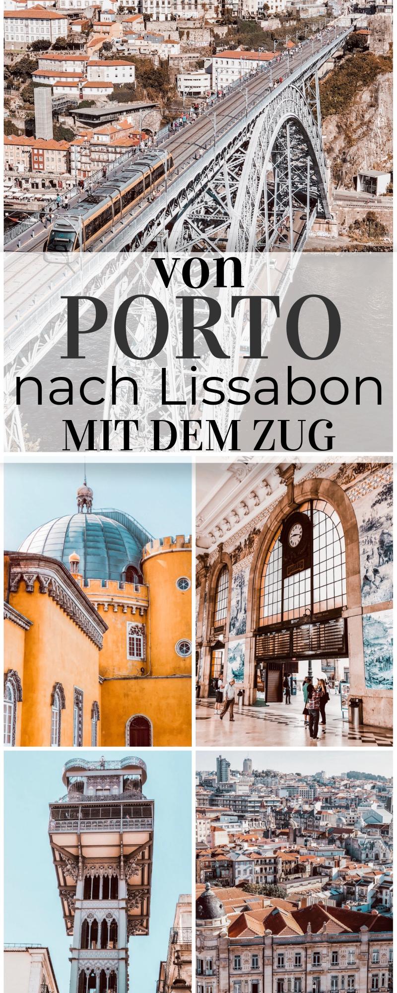 Mit dem Zug von Porto nach Lissabon - Urlaub in Portugal ⋆ Child & Compass