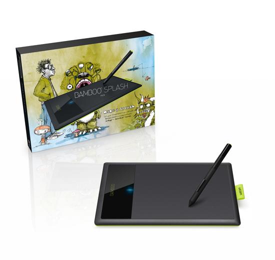 My new Wacom Bamboo Splash Tablet :) Yay!   Kimchi-Sarma