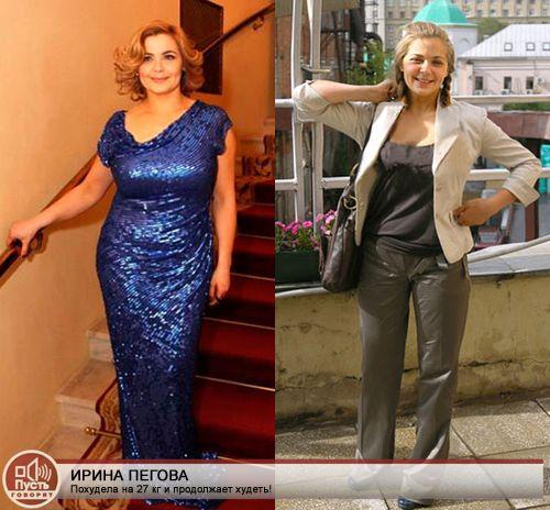 Похудеть У Ирины. Как похудела Ирина Пегова: диета и результат