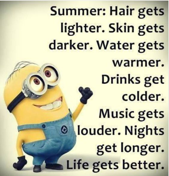 Image result for first day of summer funny minions