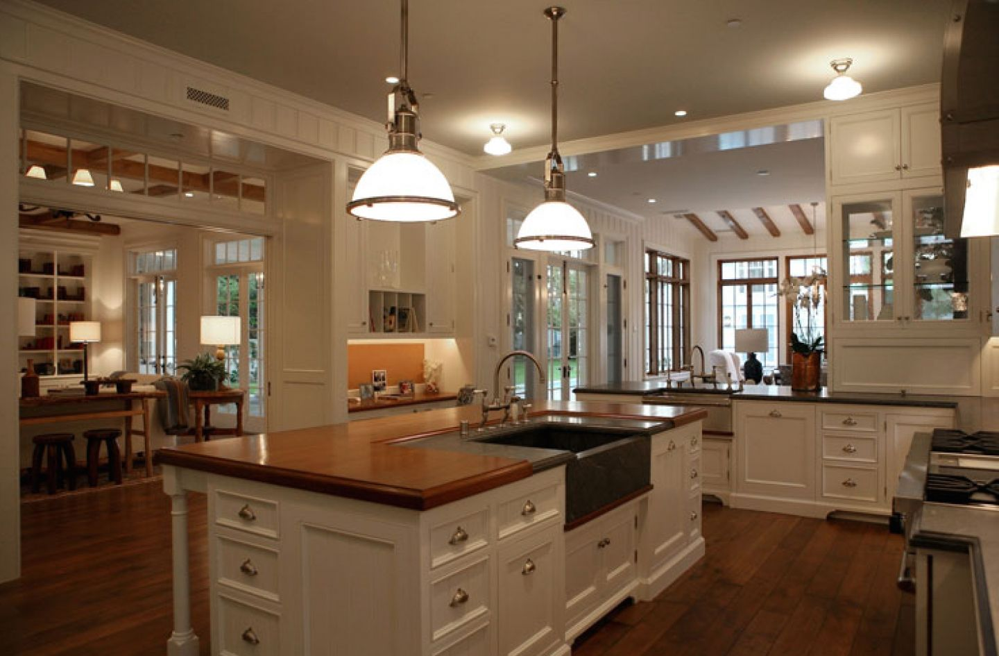 Photos Classic French Kitchen With Modern Nuance Https Wp Me P8owwu Nd Country Kitchen Designs Large Kitchen Design Open Floor Plan Kitchen