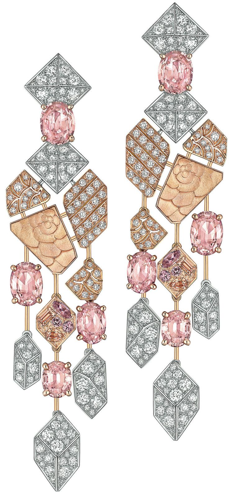 Chanel haute joaillerie caf society parure sunset for Haute joaillerie chanel