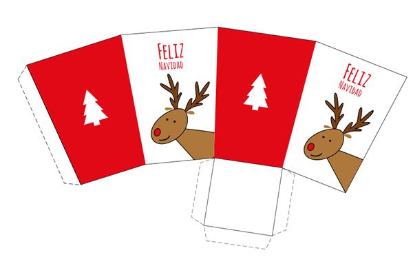 15 Cajas de Navidad para imprimir | Cajas de navidad, Dibujo de ...