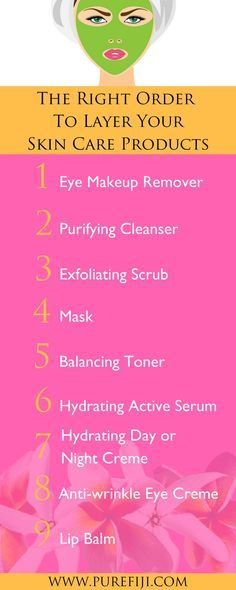 Diy Skin Care Follow These Steps To To Ensure That Your Skin Is Getting The Most Out Of Each Product Anti Aging Skin Products Aging Skin Care Diy Skin Care