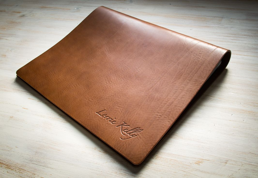 Leather Screw Post Portfolio Not Personalised Planer