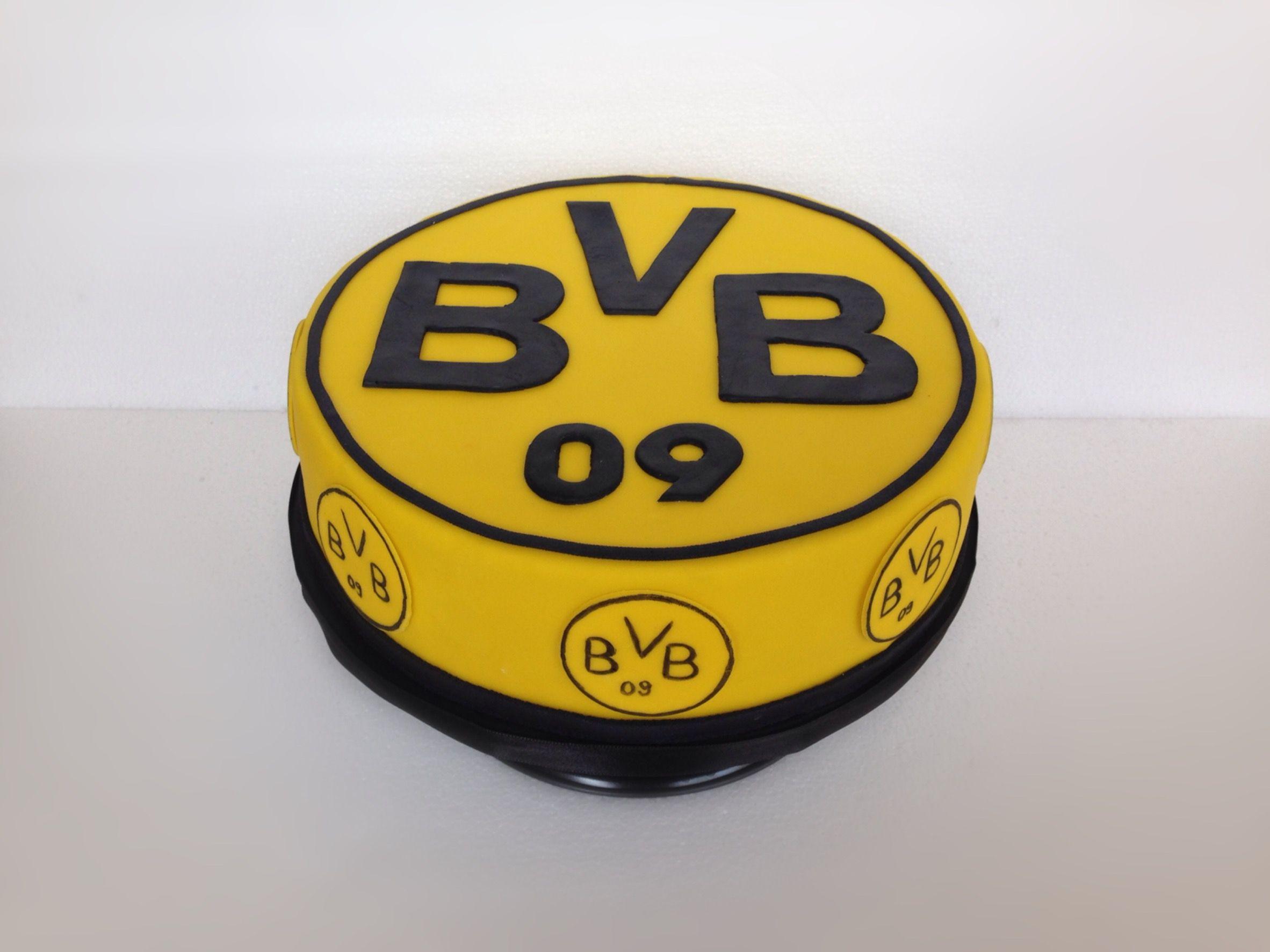 BVB 09 Torte  Motivtorte Fuball Bor  Motivtorten