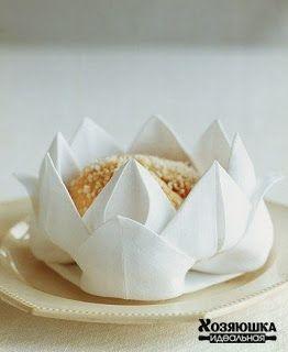 Figura de flor y muchas ideas más para navidad con servilletas de tela ~ cositasconmesh