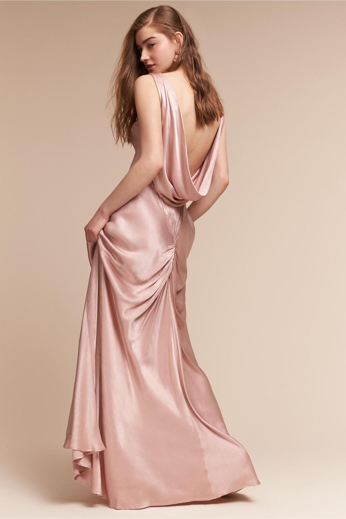 luxe satin | Edie Dress from BHLDN | Black Tie Wedding | Pinterest ...