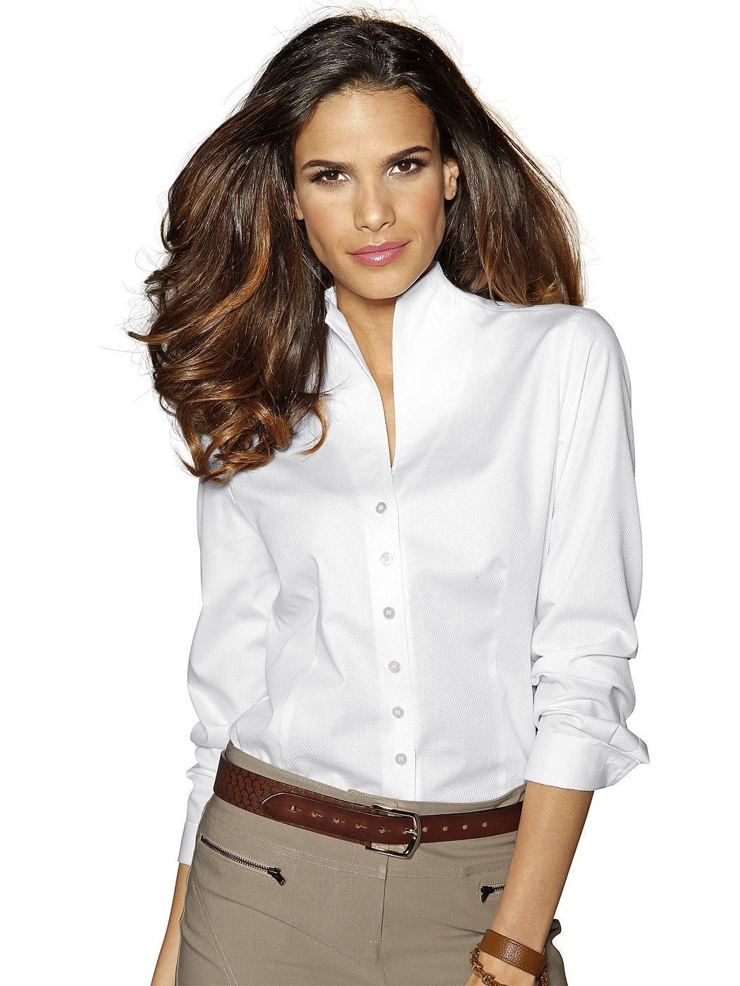 taillierte bluse damen p & c