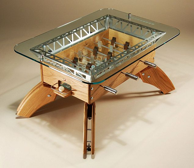 Foosball Coffee Table I Need To Build Something Like This