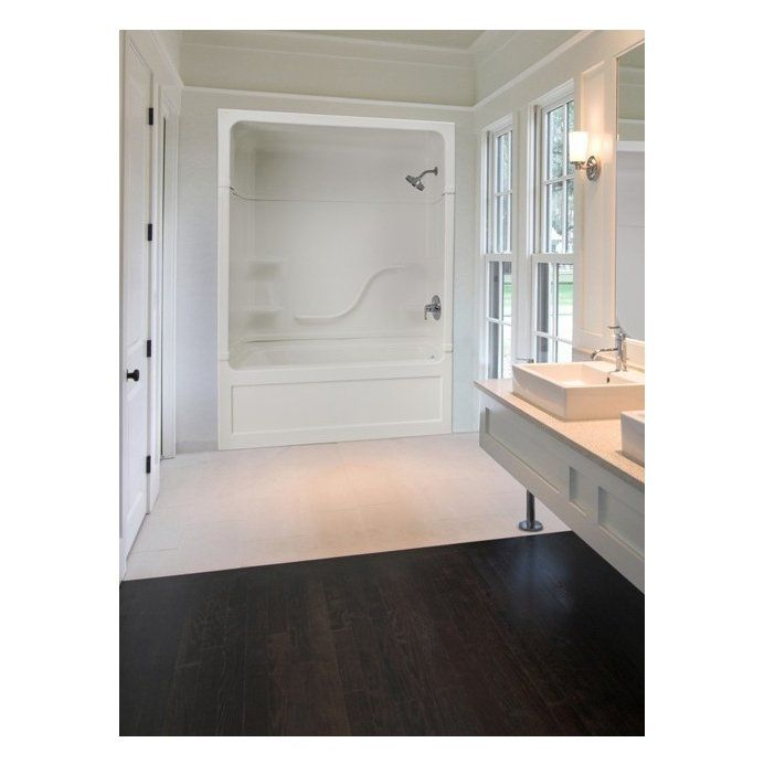Make The Bathroom Feel Luxurious With Back Wall Shower And