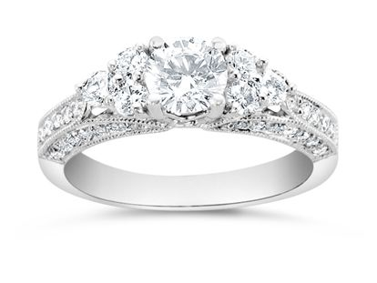 Andrews Jewelers Buffalo NY Diamond Engagement Ring Ladies