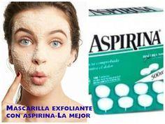 Prueba Este Exfoliante de miel y Aspirina para el rostro!