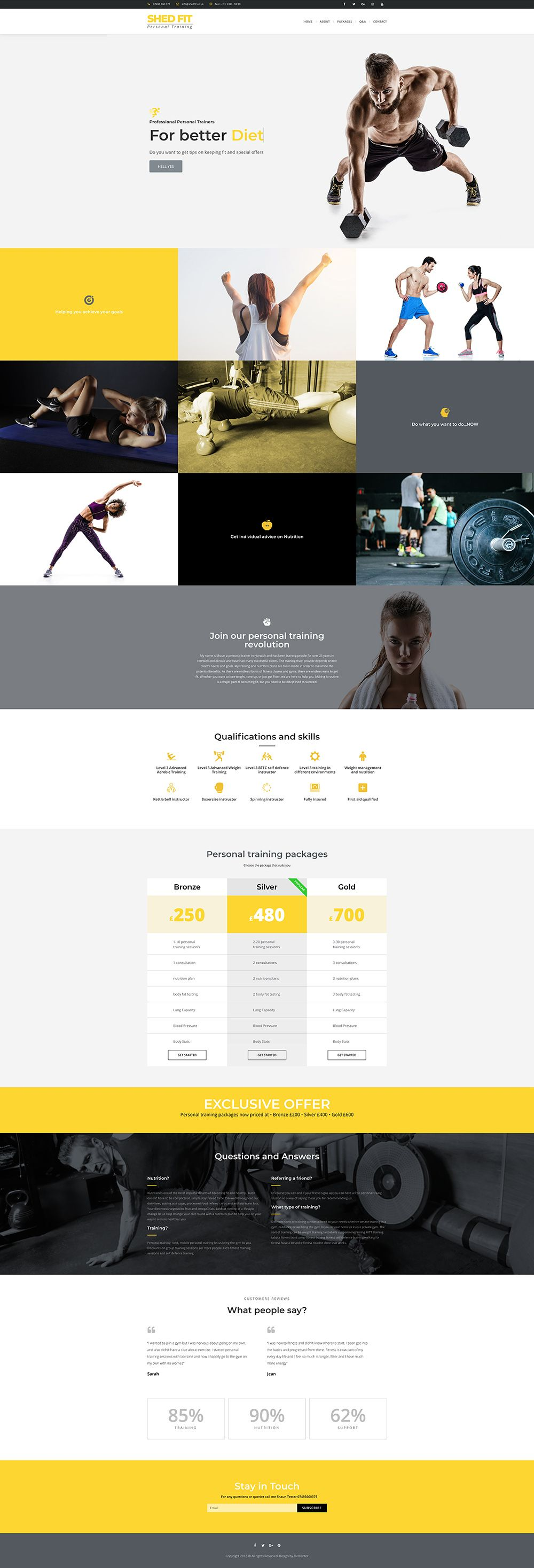 Website And App Design Wordpress Landing Page For Personal Trainer See It Live Www Shedfit Co Uk Personal Trainer Website Web Design Website Inspiration