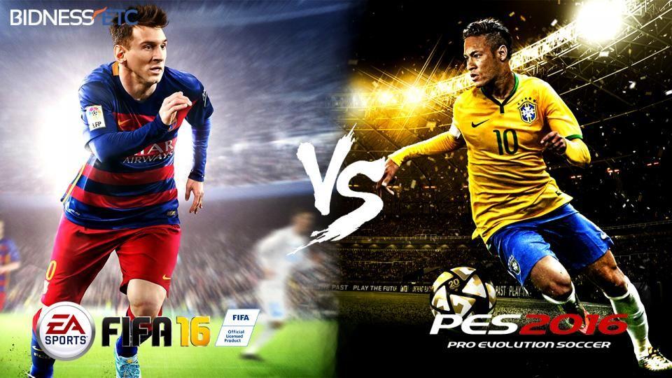 EA Sports FIFA 16 vs Konami Pro Evolution Soccer 2016