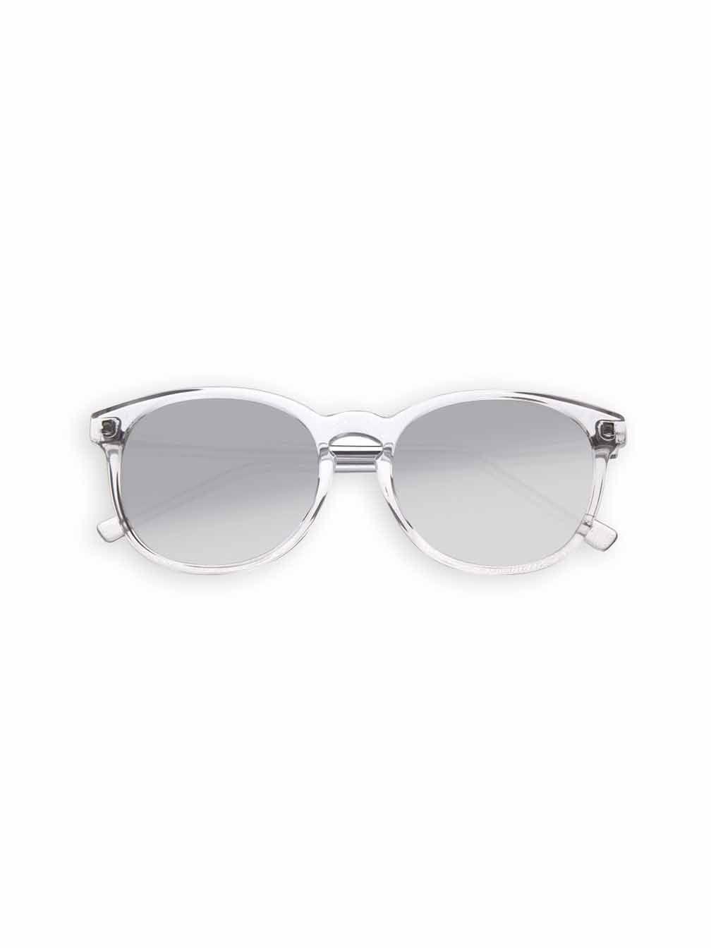 Oculos Zera Transparente Lente Prata Espelhada   Óculos Helena Bordon Zera  Transparente Lente Prata Espelhada Material 187be0c9a1