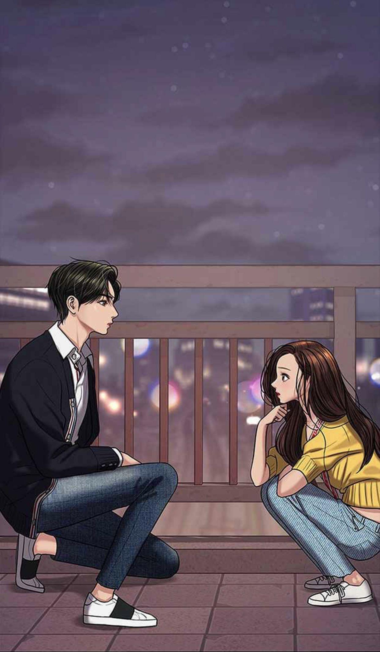 Pin oleh Mirza di Webtoon di 2020 Gambar anime, Gadis