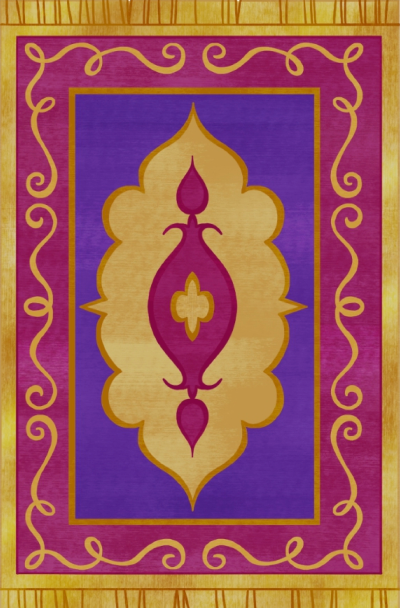 Flying through Zahramay Falls on a magic carpet with Shimmer and ... for Aladdin Carpet Design  186ref
