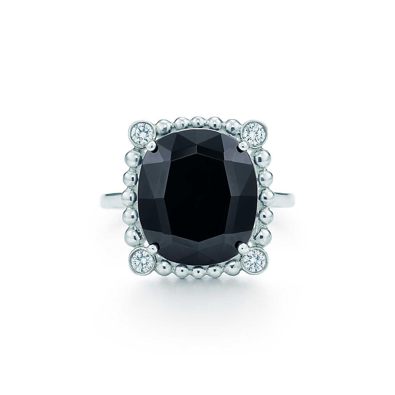 4b1302c38 Ziegfeld Collection:Black Spinel Ring in 2019   Wedding Dreams ...