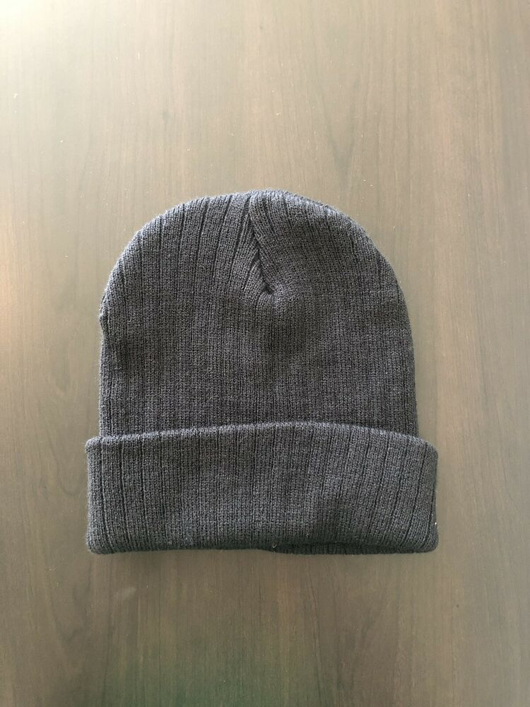 f2a8e01b641c3a Beanie Plain Knit Hat Winter Warm Cuff Cap Slouchy Skull Ski Warm Men Woman  #fashion