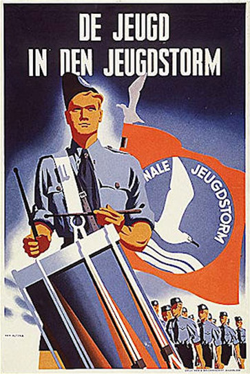 historic NEDERLAND WW2 dutch war poster SOLDIER WEAPON ARMY 24X36 hot new