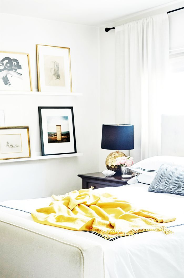 Interior designer and former mydomaine senior editor liz foster shares her bright art filled